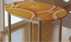 Стол обеденный с принтом бтс
