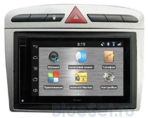 Parrot ASTEROID Smart Peugeot 308/408/RCZ grey