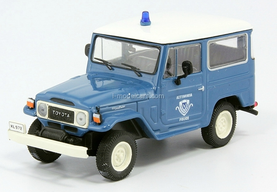 Toyota Land Cruiser Police Greece 1:43 DeAgostini World's Police Car #18