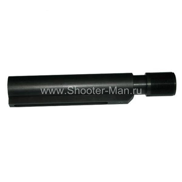 Труба с компенсатором отдачи для телескопического приклада M4/M16/AR-15 Military Equipment