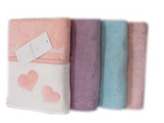 МОНИКА СЕРДЕЧКИ - MONIQUE KALPLI  полотенце махровое Maison Dor Турция