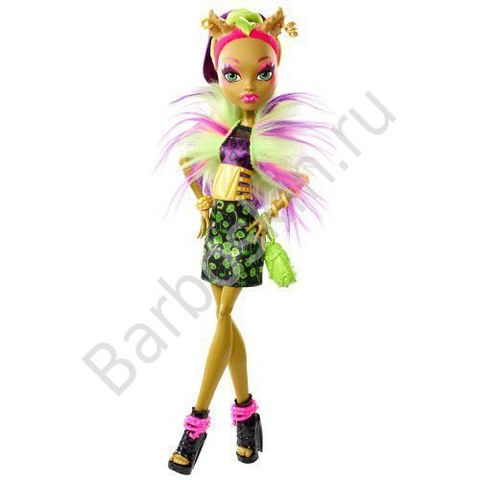 Кукла Monster High Клодин Вульф (Clawdeen Wolf) - Безумный микс