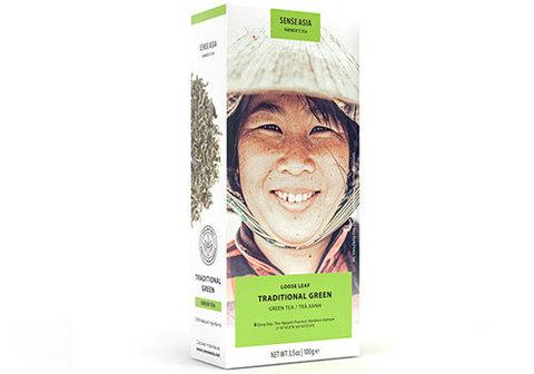 Вьетнамский традиционный зеленый чай, 100г