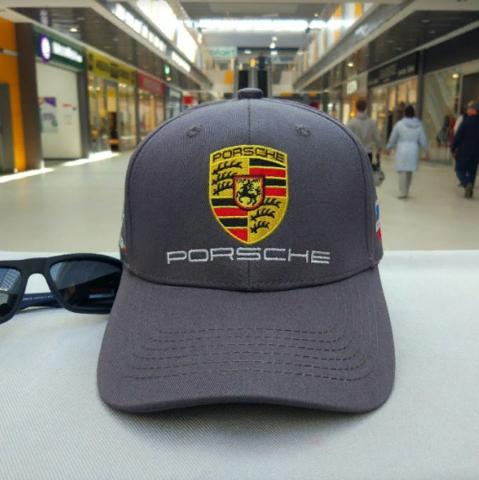 Кепка Порше серая (Бейсболка Porsche)