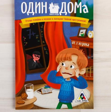 063-3906 Квест «Один дома», книга игра