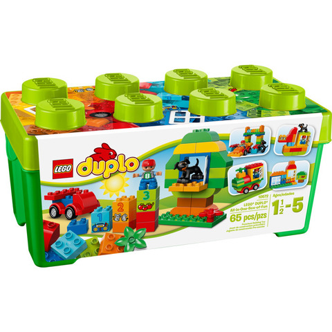 LEGO Duplo: Механик 10572 — All-in-One-Box-of-Fun — Лего Дупло