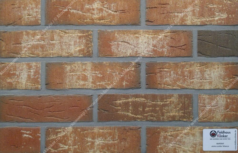 Feldhaus Klinker - R690NF14, Sintra Ardor Blanca, 240x14x71 - Клинкерная плитка для фасада и внутренней отделки