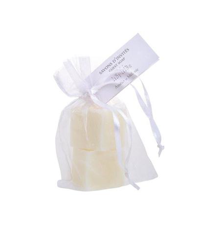 Набор мыла в мешочке Белый иней, Amelie et Melanie