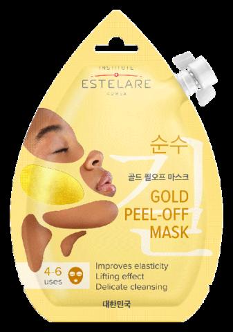 Institute Estelare Золотая маска-пленка для лица Контурирующая 20мл
