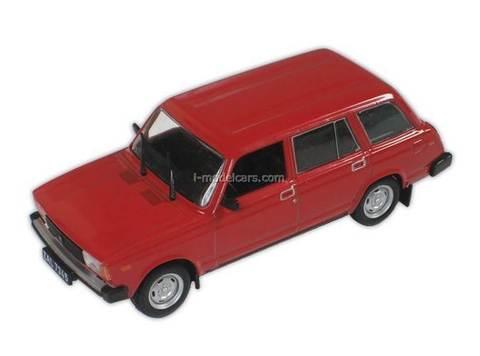 VAZ-2104 Lada red 1:43 DeAgostini Kultowe Auta PRL-u #96