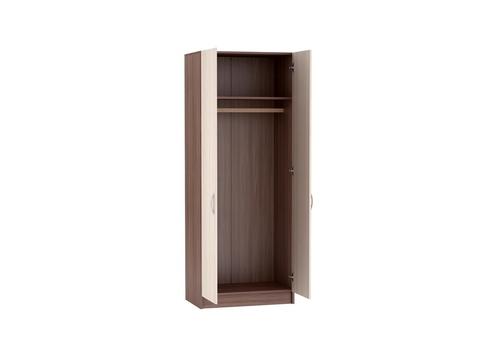 Шкаф двухдверный Бася ШК-552 платяной Браво Мебель ясень шимо