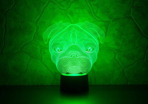 Лампа Мопс