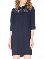 GDR011879 Платье женское, темно-синее
