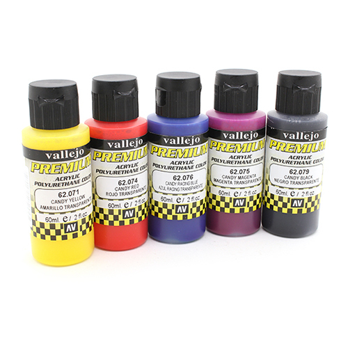 62104 Premium Colors Набор Прозрачных Кэнди (Candy Colors), 5x60 мл