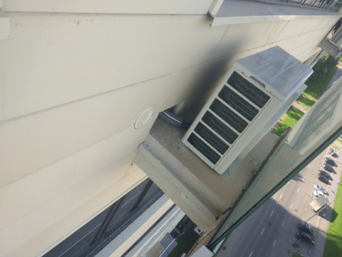 Монтаж  в вентилируемых фасадах