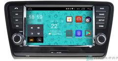 Штатная магнитола 4G/LTE с DVD для Skoda Rapid 13+ на Android 7.1.1 Parafar PF993D