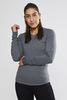 Термобелье рубашка Craft Essential Warm Low Neck Grey женская