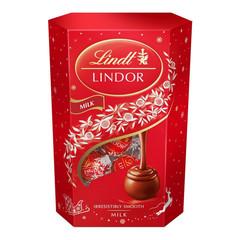 Набор конфет шоколадных Линдор молочный 8х200гр (92904)