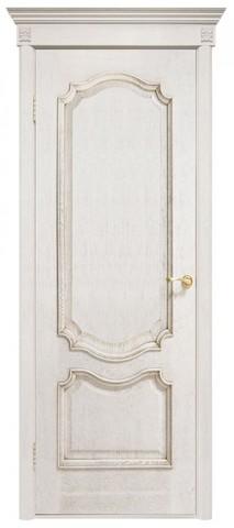 Дверь Двери Белоруссии Престиж ПГ, цвет ясень белый, глухая