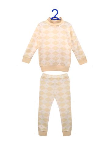 Пижама для мальчика (бежевый)
