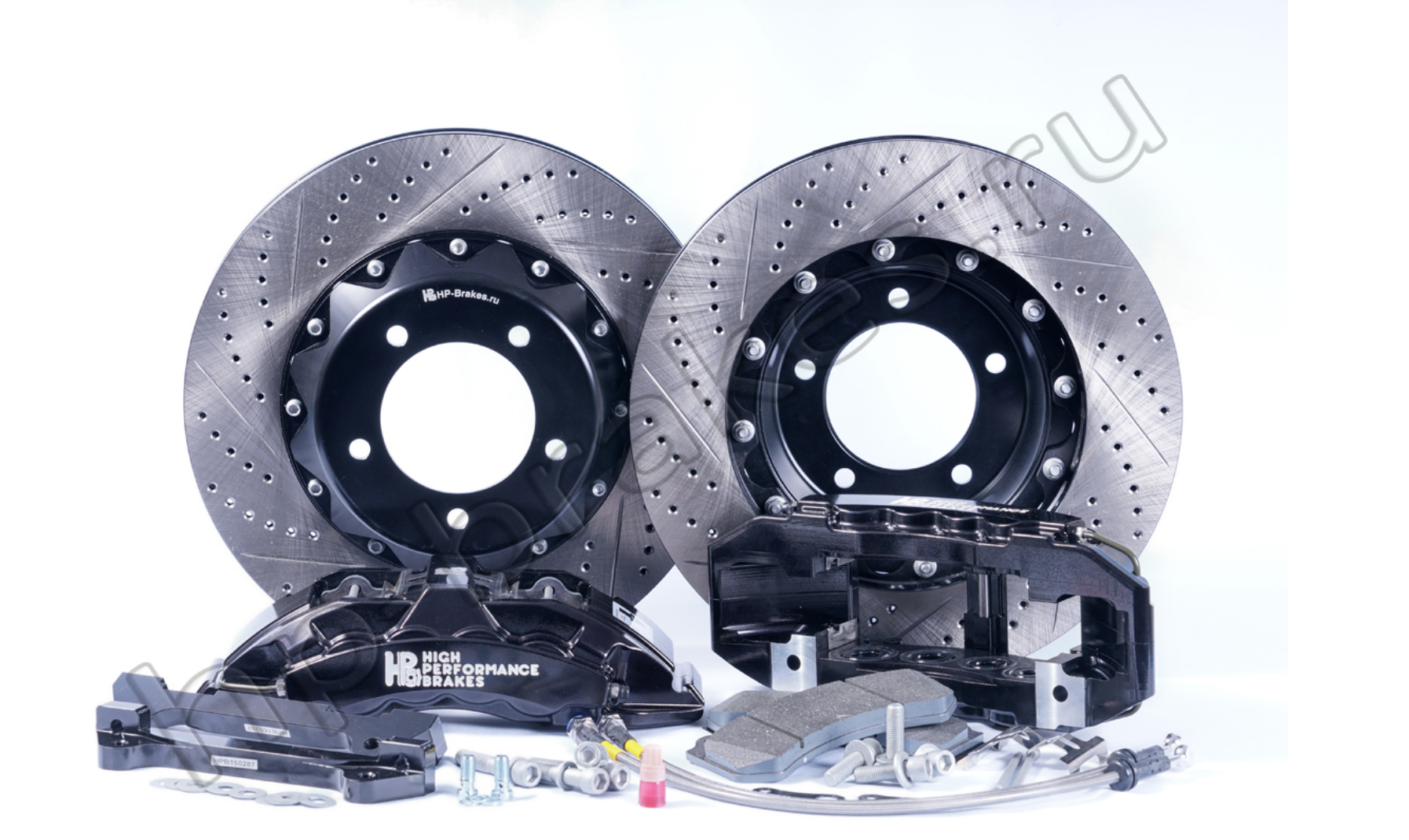 Тормозная система HP Brakes (Передняя ось, D22, 8 поршней, диск 430х36мм)
