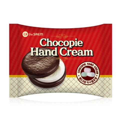 THE SAEM Hand C Крем для рук Chocopie Hand Cream Marshmallow 35мл