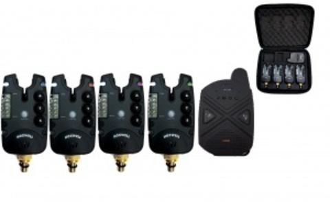 Набор электронных сигнализаторов поклевки с пейджером Hoxwell HL 28 (4+1)