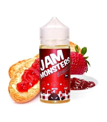 JAM MONSTERS - Strawberry (120ml)