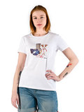 Barbour футболка Wylam White