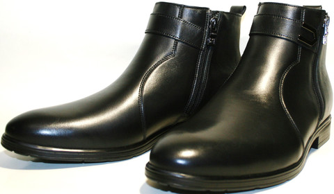 Мужские зимние ботинки на меху,