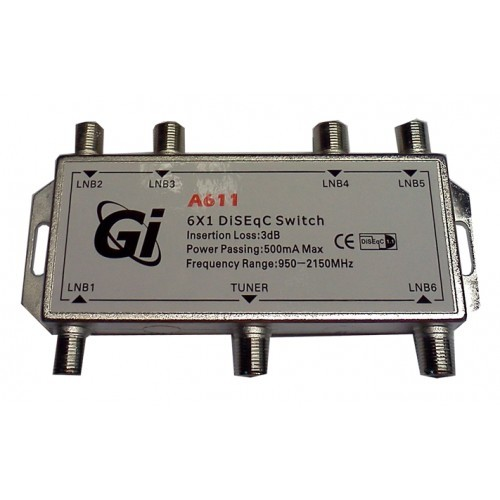 DiSEqC Switch Gi А611