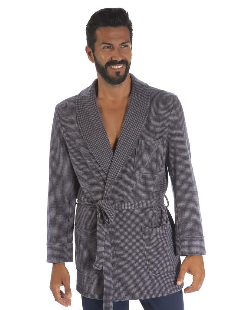 Домашний жакет для мужчин B&B (Мужские халаты)