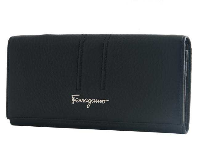 Женский кошелек Salvatore Ferragamo 4381 Black
