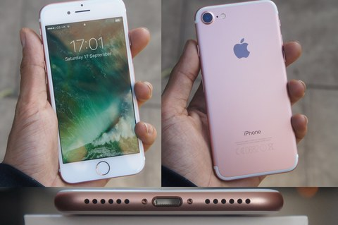 iPhone 7 Android Rose Gold (MTK6572)