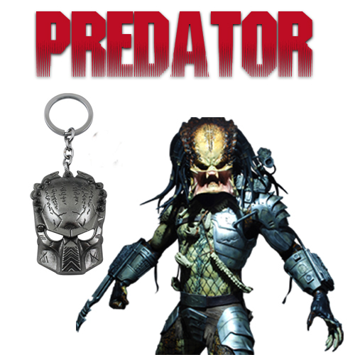 Брелок Predator Mask Metal 02