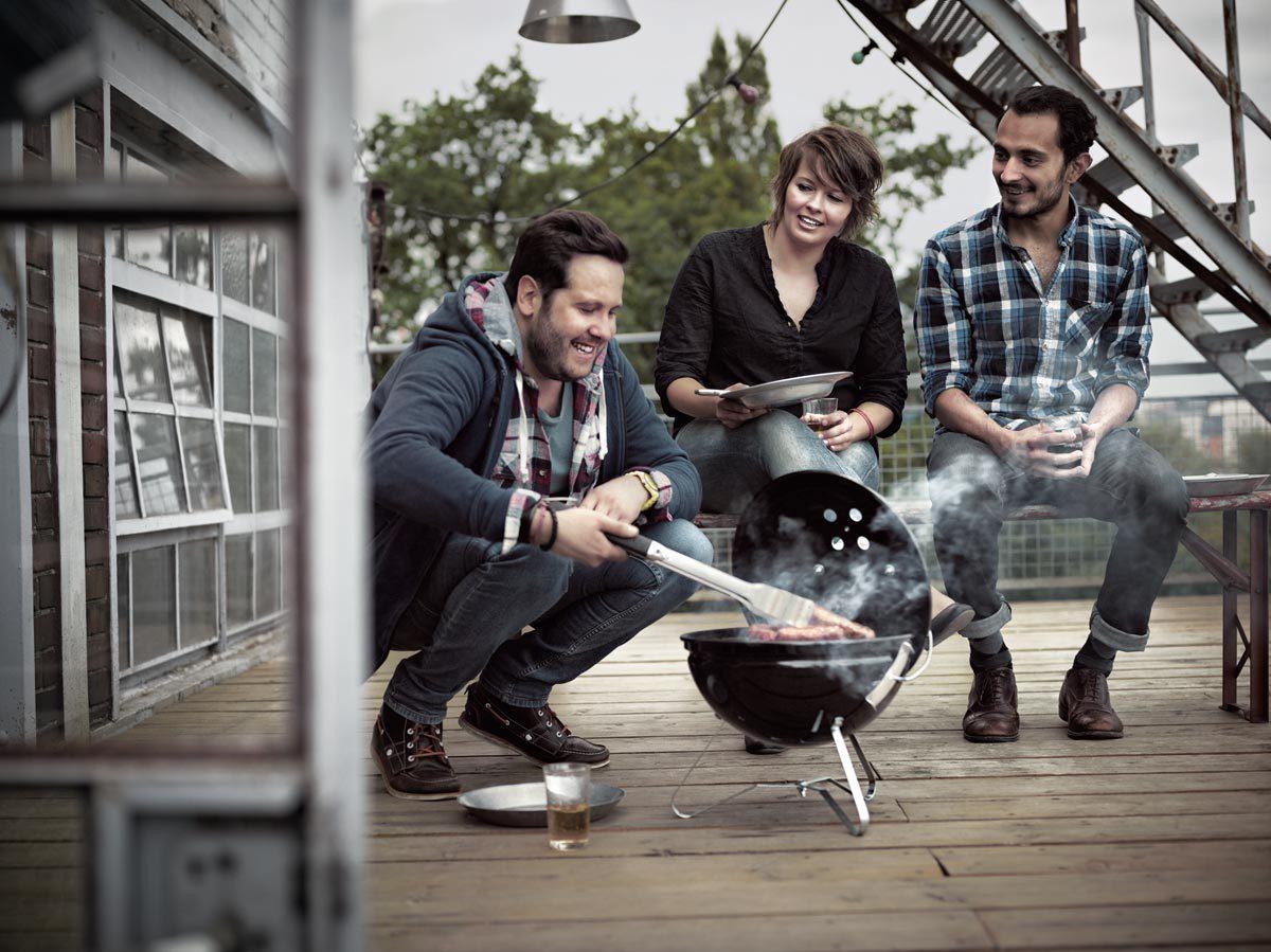 Гриль-барбекю угольный Weber Smokey Joe Premium, 37 cm, черный