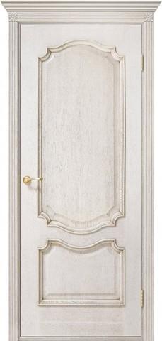 Дверь Двери Белоруссии Престиж ПГ, цвет слоновая кость, глухая