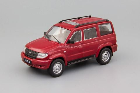 UAZ-3163 Patriot 2005-2014 red 1:43 DeAgostini Auto Legends USSR #259