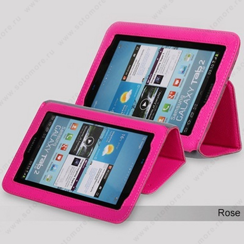 Чехол-книжка Yoobao для Samsung Galaxy Tab 2 7.0 P3100 - Yoobao Executive Leather Case Rose