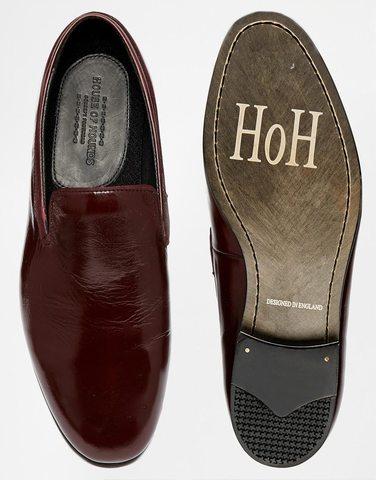 Туфли-слиперы House of Hounds Patent