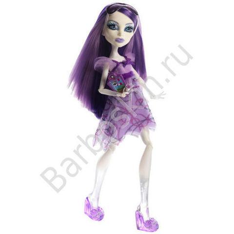 Кукла Monster High Спектра Вондергейст (Spectra Vondergeist) - Пижамная вечеринка или Смертельно уставшие