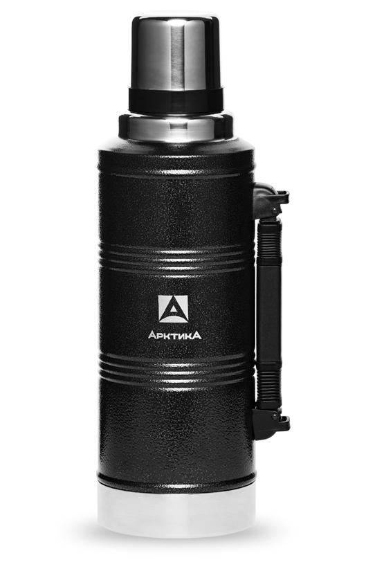 Термос Арктика (2,2 литра) с узким горлом американский дизайн, черный*
