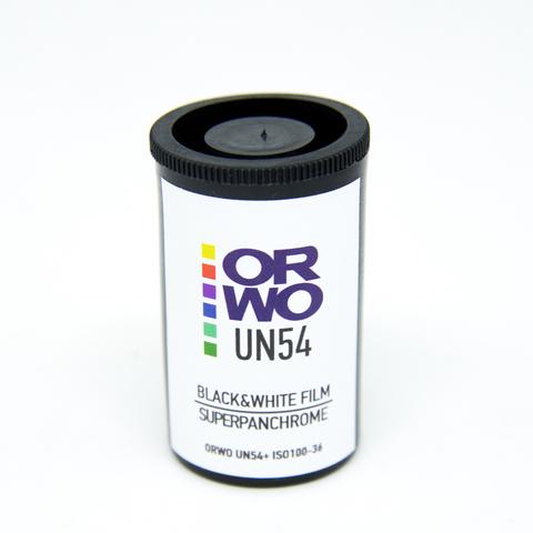 Фотопленка ORWO UN54 100/135 ч/б, 36 кадров