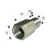 Адаптер-удлинитель для рулевого троса ДУ Mercury
