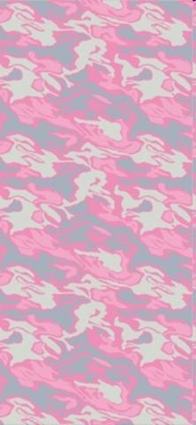 Многофункциональная бандана-труба Buff Camu River Pink