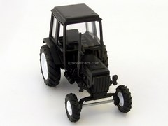 Tractor MTZ-82 Belarus plastic black Agat Mossar Tantal 1:43