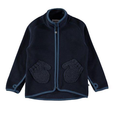Куртка флисовая Molo Ushi Blue Wing Teal