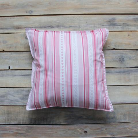 Подушка Pink Stripes розовые полосы