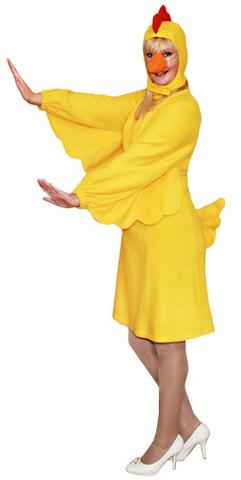 Костюм курицы жёлтой