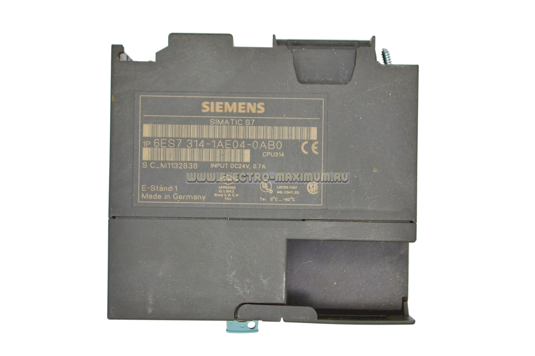SIMATIC S7-300, CPU 314 6ES7 314-1AE04-0AB0